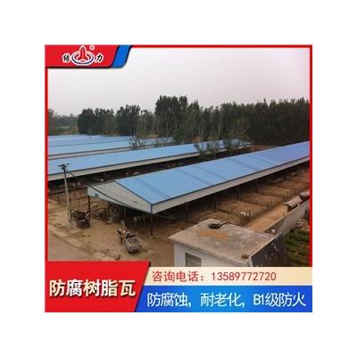 厂家销售asa树脂瓦 安徽淮南防腐树脂瓦 墙面防腐板