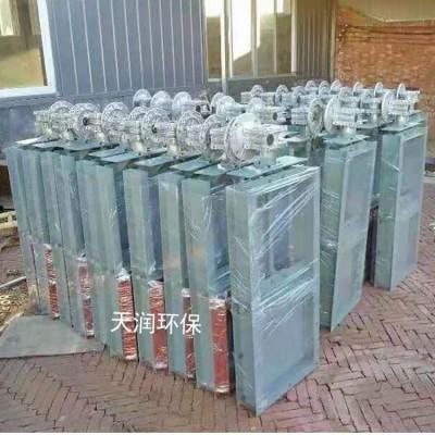 插板阀常用型号上海电机减速机插板阀生产厂家