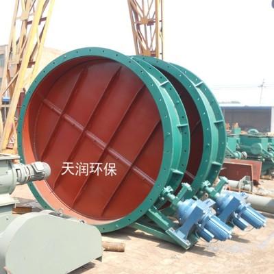 通风蝶阀加工定制海南电动执行器通风蝶阀常用型号