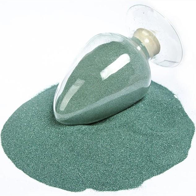 绿碳化硅整形砂50-90微米颗粒圆整集中率高