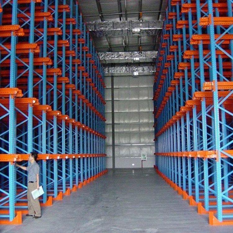 贵阳通廊式货架厂家  驶入式货架