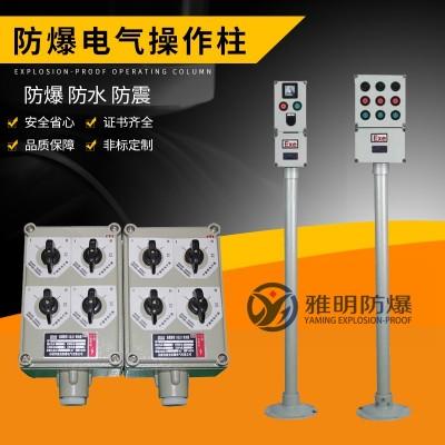 BZC51-A3D2/B1D2K1现场防爆按钮盒