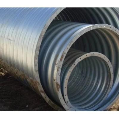德州波纹涵管设计图 隧道涵洞波纹管涵 经销型号齐全