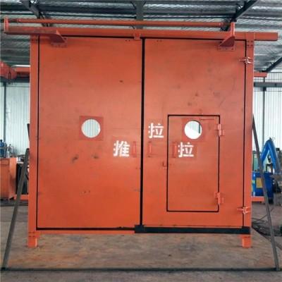 煤矿无压风门尺寸定做SWM压力平衡风门质量好