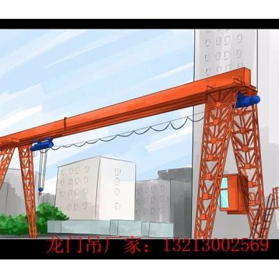 贵州遵义龙门吊出租厂家10吨龙门吊安装时的注意问题