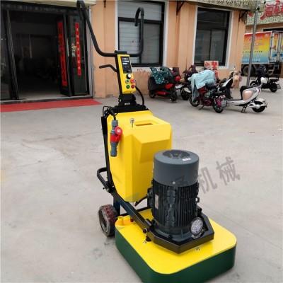 大理石养护翻新抛光机 固化剂水泥地面研磨机 路通自吸尘研磨机