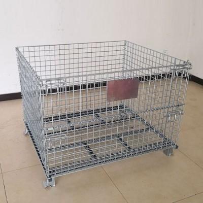 宜宾仓储笼 折叠式大铁笼