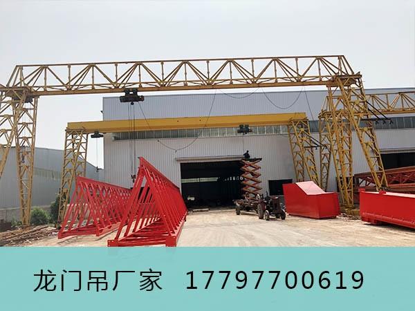 湖南湘潭龙门起重机厂家夜间施工时应注意什么