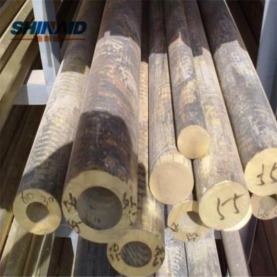 进口CuSn4锡青铜管 卷边轴套用锡青铜管