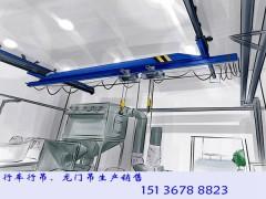 湖南岳阳行车行吊厂家老厂房安装起重机