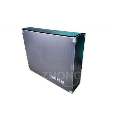 仲达塑胶 中空板周转箱批发厂家 山东塑料中空板箱批发