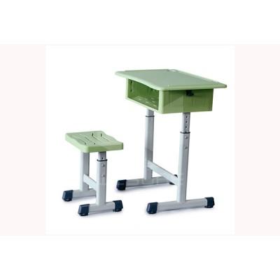 仲达塑胶 厂家直销学生升降课桌椅 学校课桌椅批发