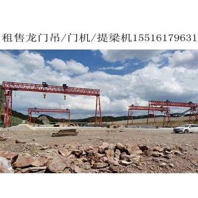 广东佛山10吨龙门吊销售厂家主要零部件的维保