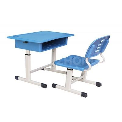 仲达塑胶 校园家具课桌椅生产厂家 学生升降课桌椅批发价格