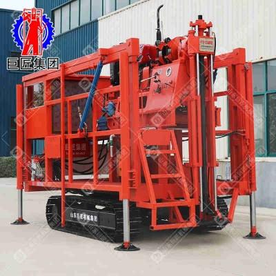 300米全液压勘探钻机 履带式XYD-2C土壤岩石取样钻机