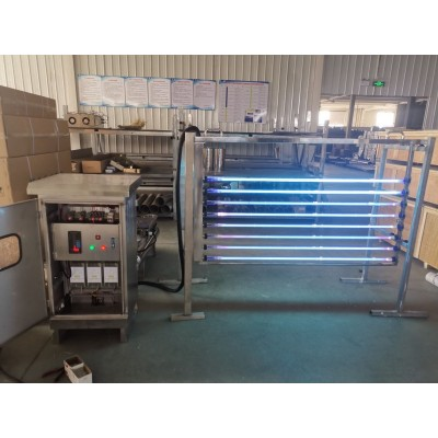 济南污水厂用明渠紫外线消毒模块作用