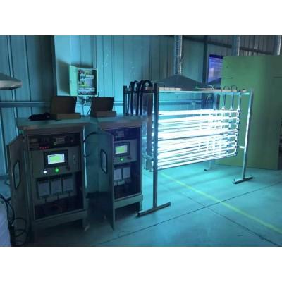 青岛污水厂用明渠紫外线消毒模块作用